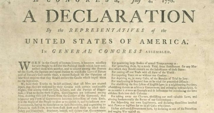 The Only Catholic To Sign The Declaration of Independence