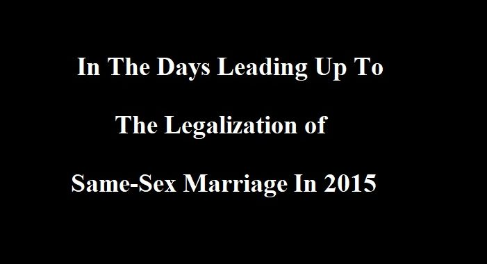 Why Same-Sex Marriage Was All A Lie